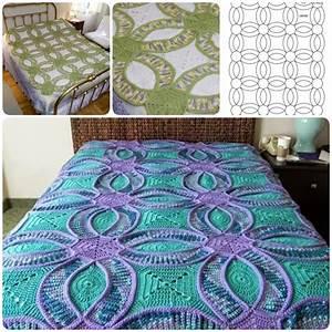 wedding ring crochet quilt free pattern beesdiycom With wedding ring pattern quilt