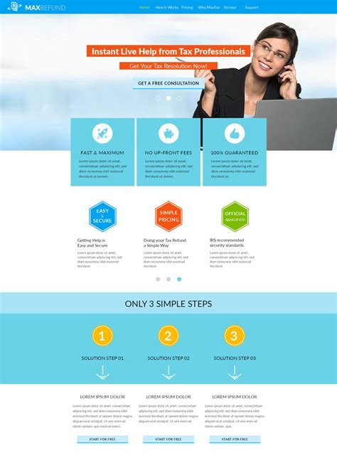 Simple Website Templates For Beginners 15 Peerless Muse Corporate Website Templates