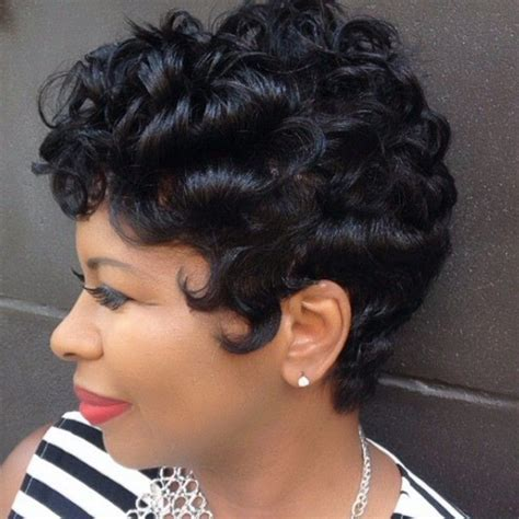 Short Hairstyles: Short Curly Hairstyles For Black Women