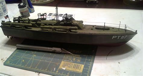 What Is A Pt Boat by The Combat Workshop Revell 1 72 Pt Boat Finished
