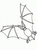 Bat Coloring Pages Coloringpages1001 sketch template