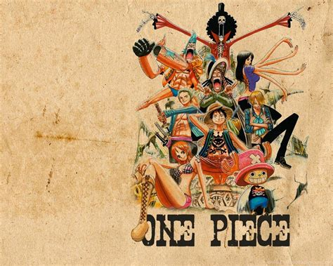 Straw Hat Crew Wallpapers,one Piece Wallpapers & Pictures