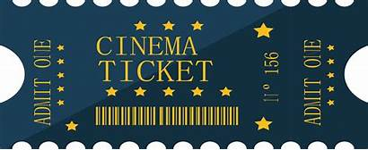 Clipart Film Ticket Movie Cartoon Transparent Cinema