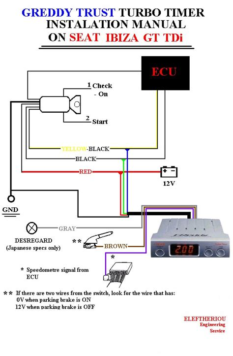 turbo timer wiring diagram webnotex com d1 spec turbo timer wiring diagram
