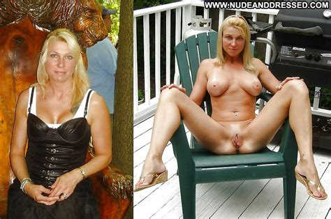 Aide Private Pics Dressed And Undressed Amateur Blonde Milf Mom