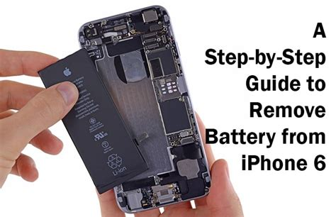 how to cut on iphone how to remove battery from iphone 6 or 6 plus
