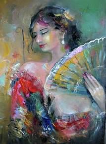 spanish woman by giorgi kobiashvili