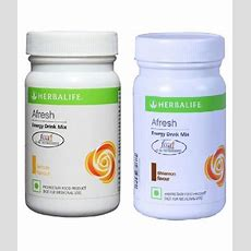 Herbalife Afresh Energy Drink Mix Lemon And Cinnamon