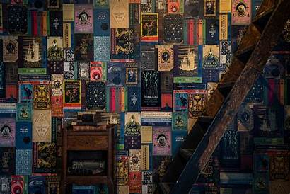 Potter Harry Wallpapers Minalima Books Wizarding Inspired