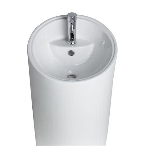 vasque totem pas cher line kiqsdb vasque de salle de bains totem sur pied with