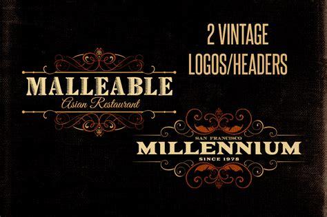 vintage logo creator kit dealjumbocom discounted