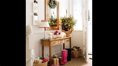 ideas de decoracion de recibidores en navidad como