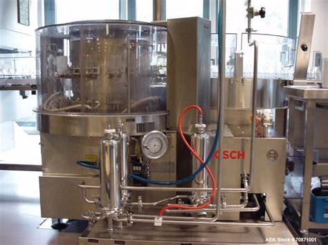 unused bosch vial filling  pharmaceutical