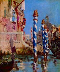 Reproduction Tableau Sur Toile : reproduction de manet grand canal de venise ~ Dailycaller-alerts.com Idées de Décoration