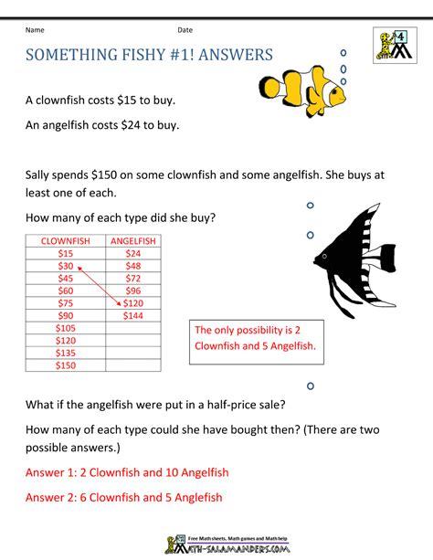 math problem solving for 4th grade breadandhearth