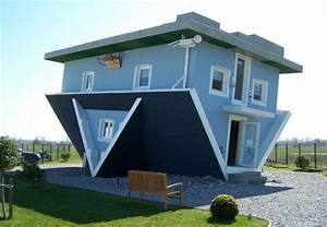 Funny Upside Down House - Home & Garden Do It Yourself