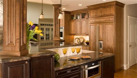 natural walnut kitchen cabinets park avenue walnut natural 1900 series kitchens