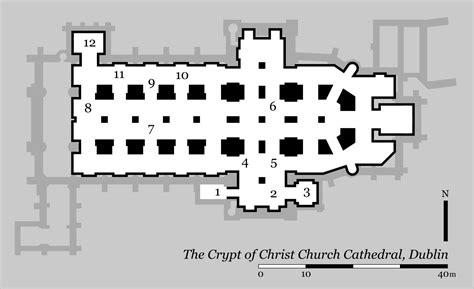 filechrist church cathedral dublin crypt plansvg