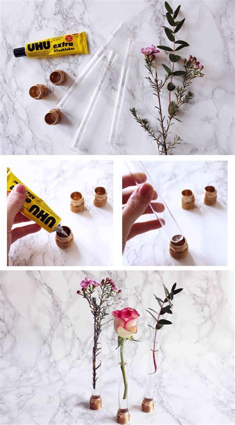 Möbelrestauration Selber Machen by Reagenzglas Vase Basteln Kreative Diy Idee