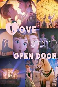 Love is an open door | Frozen | Pinterest