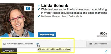 Vanity Url by Customize Your Profile Url On Linkedin The Brand