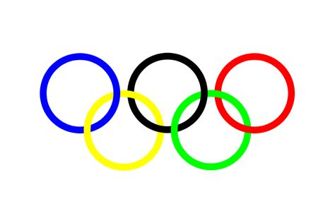 What do the Olympic rings stand for?