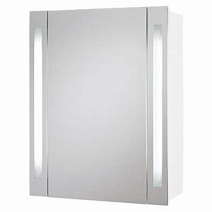 Spiegelschrank 60 Cm Breit Mit Beleuchtung : riva spiegelschrank hydra 1 t rig breite 60 3 cm mdf mit beleuchtung ~ Indierocktalk.com Haus und Dekorationen