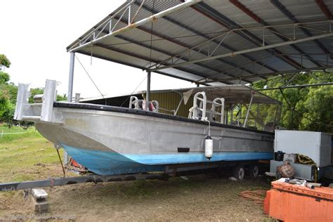 Aluminum Work Boats For Sale Used by Custom High Speed Barge Commercial Work Boat Power