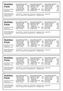 nutrition label template download create nutritional labels With food ingredients label template