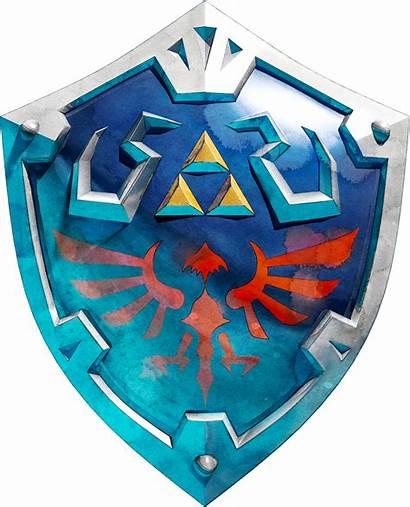 Zelda Escudo Hylian Legend Wikia Shield Hyrule