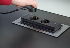 Prise Escamotable Plan De Travail : prise electrique encastrable cuisine 11 prise ~ Dailycaller-alerts.com Idées de Décoration
