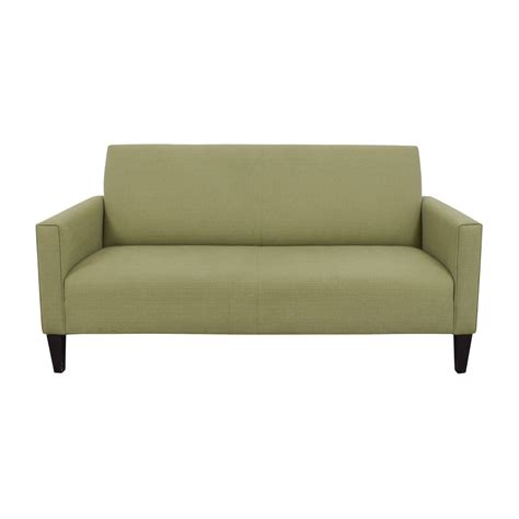 best crate and barrel sofa 80 off crate barrel crate barrel moss green single