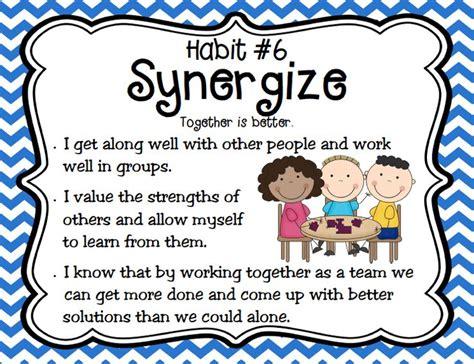 7 Habits Of Healthy Kids  Habit 6 Synergize