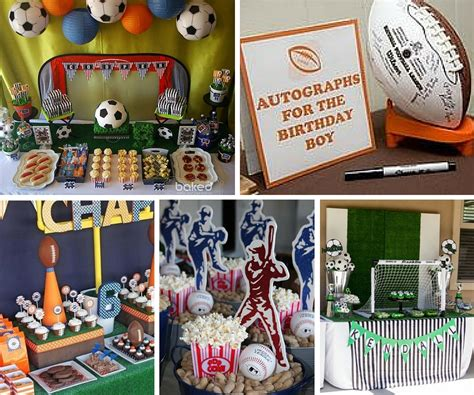 sports party ideas boys party ideas  birthday   box