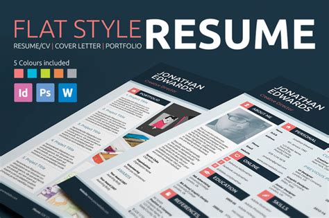 Flat Design Resume Templates by The Best Resume Templates Available Top Design Magazine Web Design And Digital Content
