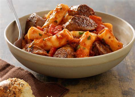 sauge cuisine sausage rigatoni johnsonville com
