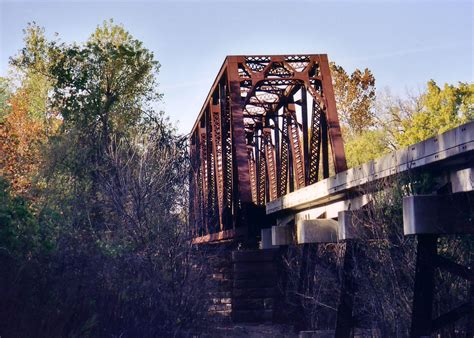 bridgehuntercom bnsf marais des cygnes river bridge