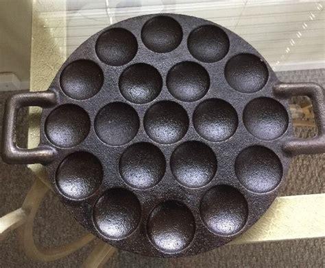 pan iron cast poffertjes dutch pancake leeuwarden cookware koopmans pancakes