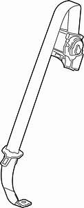 Gmc Acadia Seat Belt Lap And Shoulder Belt  Cocoa  Gray
