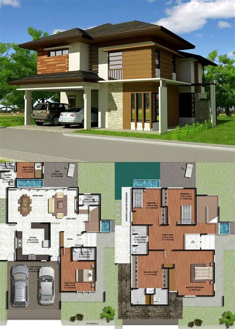 Luxurious Four Bedroom Two Storey House With Provisions
