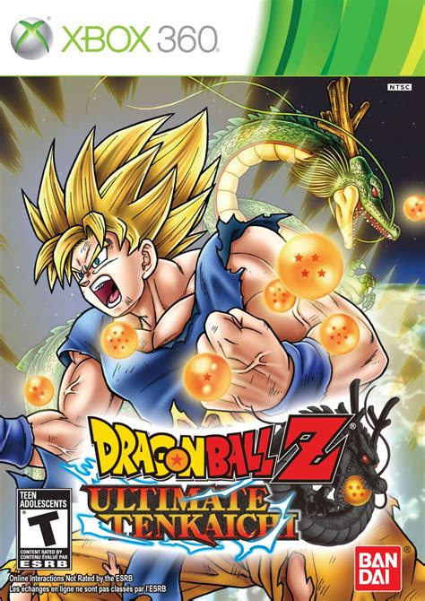 Dragon Ball Z Ultimate Tenkaichi Xbox 360 Game