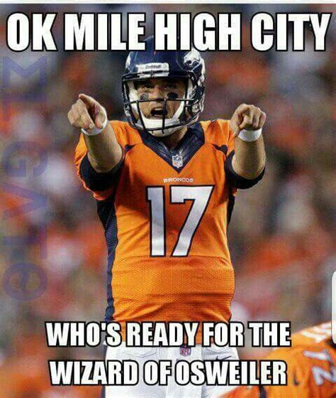 Brock Osweiler Memes - the broncos broncos and new england on pinterest