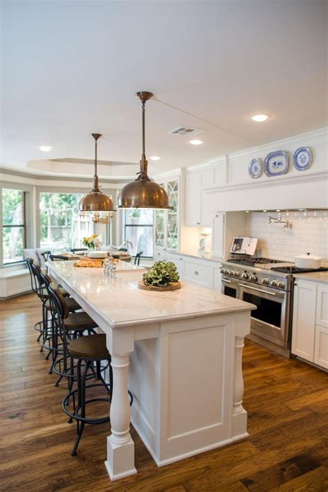 granite kitchen island with seating 234 best images about fixerupper3 3house in the woods on
