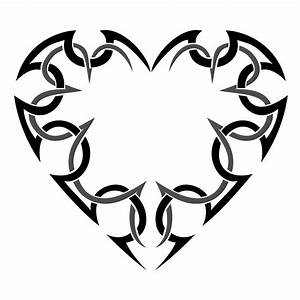Tribal Heart Tattoo Meaning - ClipArt Best
