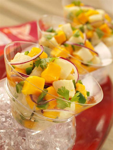 tilapia ceviche  mango recipe relish