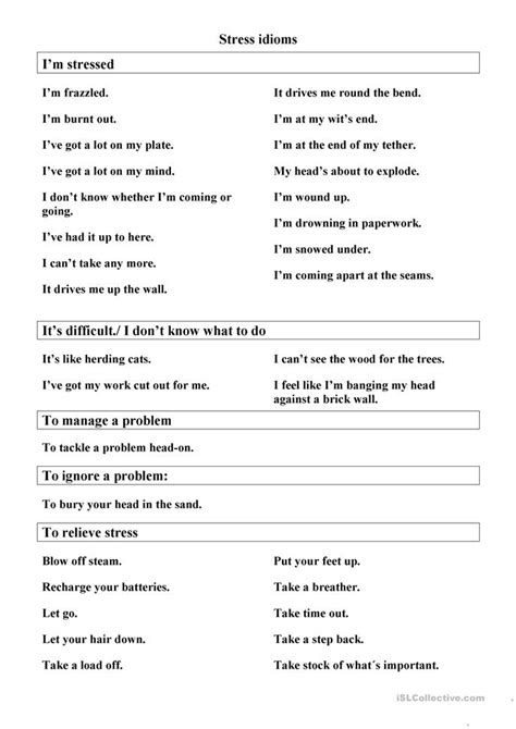 all worksheets 187 stress management worksheets printable