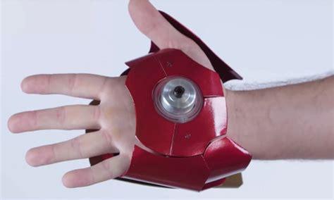 real iron man gloves light  match