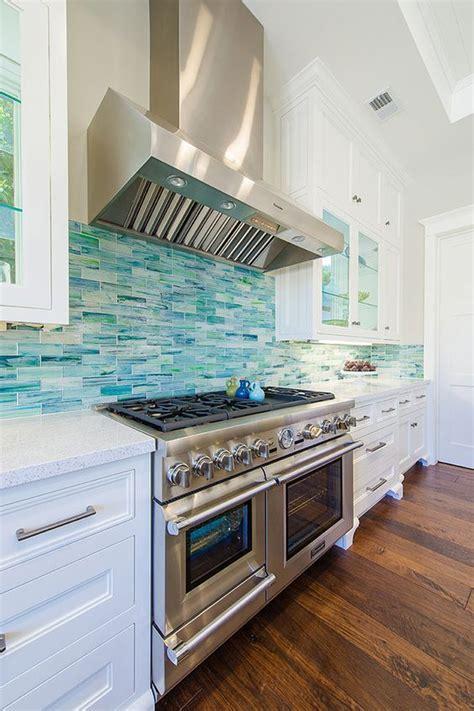 Kitchen Backsplash Turquoise by Turquoise Backslash Tile Via House Of Turquoise Builder