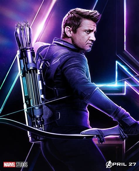 Avengers Infinity War Hawkeye Marvel Vingadores Herois