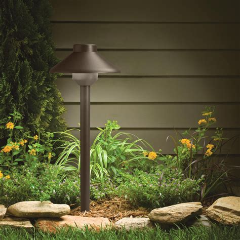 kichler 15821azt landscape led transitional 15 inch